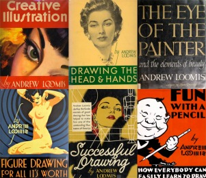 01-Andrew-Loomis-books-Illustration